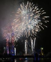 London Fireworks 2013 by DreamBex