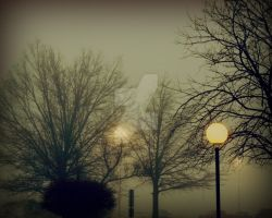Fog And Lights - Filtered by GalleryCHOU