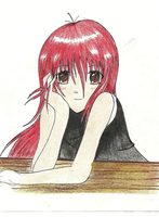 red head by Racani