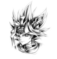 King Atem by lenita1