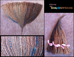 Blonde Double Enders for Vanessa by vailismyname