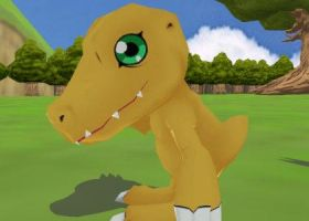 Agumon rigged by blazeraptor