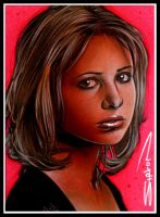 Buffy Sketch Card 5 by RandySiplon