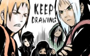 KEEP DRAWING by Casualmisfit