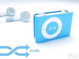 Ipod Shuffle by artist-tortured