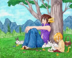 Cel's Easter BD present by algy