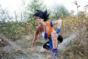 Goku Cosplay - Ally to Good, Nightmare to you by Elita-01
