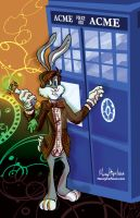Looney Who Bugs Bunny by mannycartoon