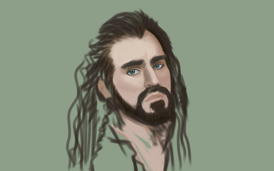 Thorin Oakenshield (WIP) by GreenishQ8