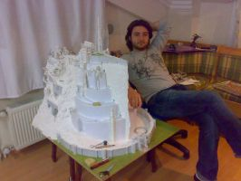 Minas Tirith and me... by Minas-Tirith-Hakan