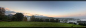 Morning view at home by deaconfrost78