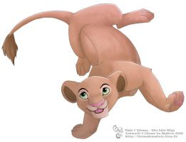 The Lion King - Nala by lionne-de-matrix