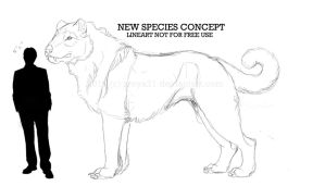new rideable species concept by Zroya21