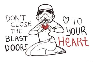 Belated Valentines - SexyStormtrooper by khaedin