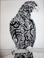 Tribal Parrot by hols1993