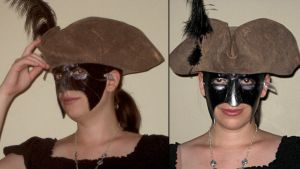 Ezio Carnivale Mask: In Action by Angelic-Artisan