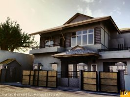 House Exterior Design 3D by marauderx666