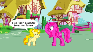 Heart Spirit and her daughter from the future by rockyme100