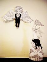 .:SPOILER:. Vincent paperchild by LadyRachlyn