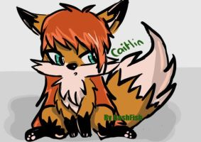 Caitlin the Fox - The Beast Within (Wattpad Story) by APandaWithACamera
