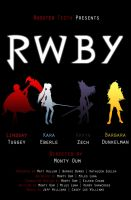 RWBY Movie Poster 1 by IceNinjaX77