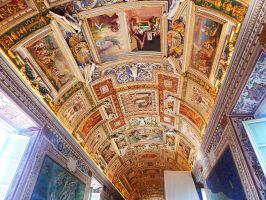 Vatican Ceiling by ChaseStarlit