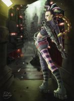 2000 AD - Low Life - Aimee Nixon by pictsy