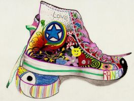 Colourful Converse by Curlie-11