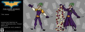 The Joker The Dark Knight Animated by ARTMONKEYMG