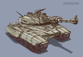 Tank Sketch by 152mm