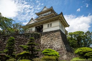 Odawara Castle by Felon-Monk
