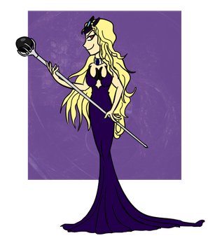 Queen Witch Princess by HarpieQueen
