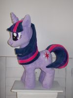My Little Pony Twilight Sparkle Plushie by CINNAMON-STITCH