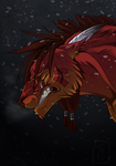 Red XIII - I'm sorry father... by Thunddi