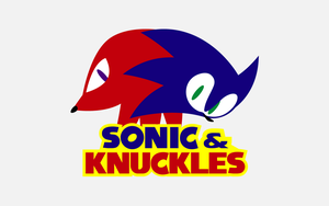 Sonic and Knuckles - Wallpaper by C2SilvaRymes