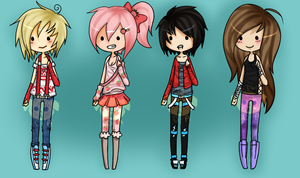 { 41 - 44 } Offer To Adopt Kiddos ~ :: CLOSED by Doggy-Adopts