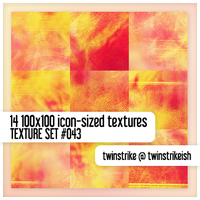Texture Set 043 by twinstrikeish