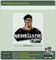Renegade Ops Icon by CODEONETEAM