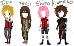 My Naruto Generation Oc's by ShayFace