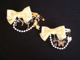 Yellow Ribbon Set by Corselia