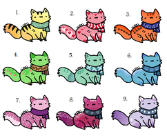 Adoptable Kitten Patch - 10 point :OPEN: by xRainbow-adoptsx