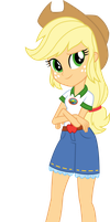 Legend of Everfree: Camper Applejack by ImperfectXIII
