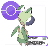 Mantis 1 by Cerulebell
