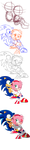 SonAmy drawing progress by Eleanor-Devil