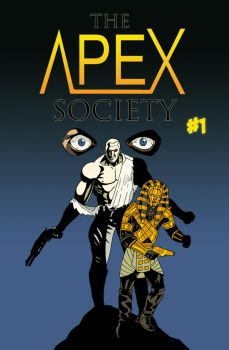 The Apex Society #1 cover by Spearhafoc