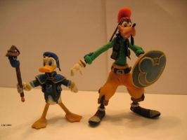 Donald and Goofy KH by Siege-Lightforce