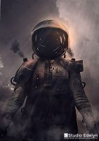 Steampunk Space Suit by MuhammadRiza