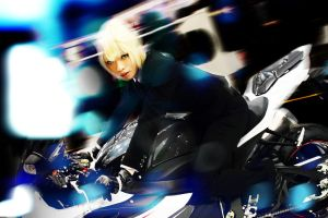 Saber - Black Suit Rider by blue-ly