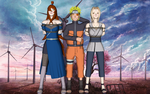 The future kage walking with his brides by 4wearemanytoo