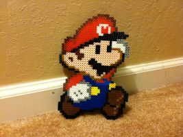 Paper Mario Bead Sprite by Night-TAG